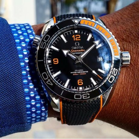Omega Seamaster Planet Ocean Automatic Gold