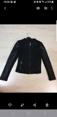 Осенняя куртка брендовая шерсть размер xs