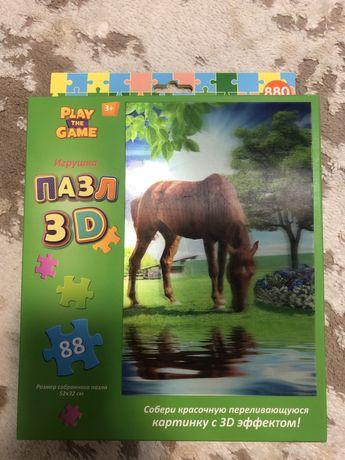 Продам Пазл 3D для детей лошадь