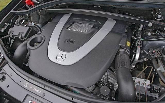 Двигатель Mercedes Gl 550