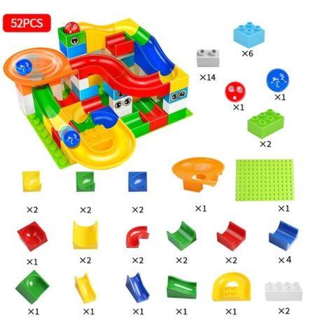 Traseu Bile compatibil LEGO Duplo, set contructii copii
