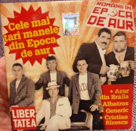 CD Cele mai tari manele din Epoca de Aur: Azur, Albatros, Generic...