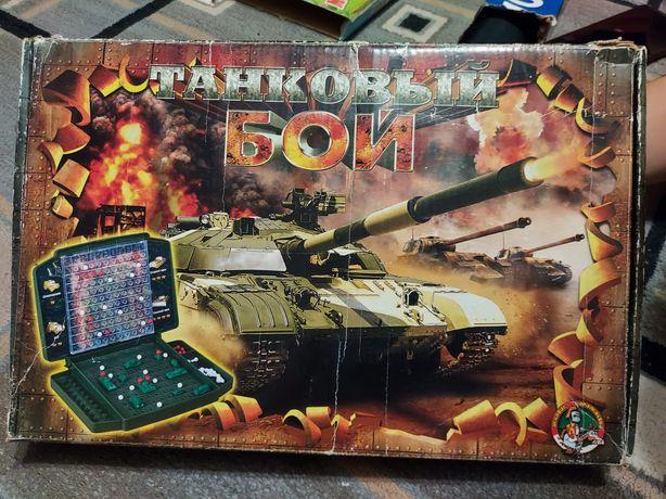 Настольная игра танковый бой