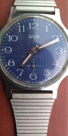 Култов винтидж руски механичен часовник Зим-СССР