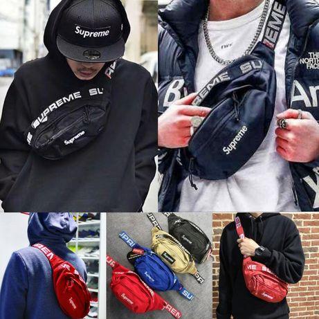 -40% SUPREME Ганстер Лукс мъжка чанта/паласка за през рамо или кръст