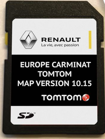 Renault Carminat Tomtom 10.15 SD Card 2020гд Навигация Рено сд карта