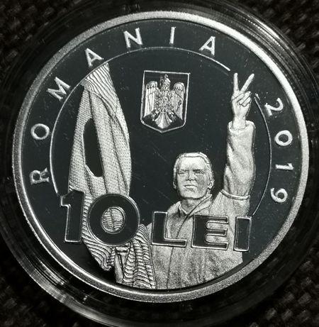 Moneda argint 30 de ani de la Revoluția Română