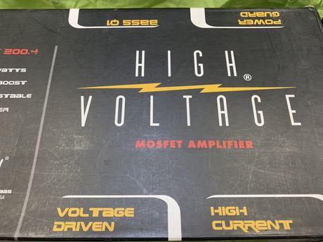 Hollywood Amplificator Auto HighVoltage USA HV-200.4