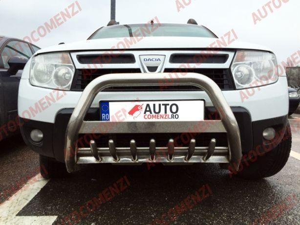 Bullbar inox dedicat Dacia Duster 1 si 2 2010-->Prezent