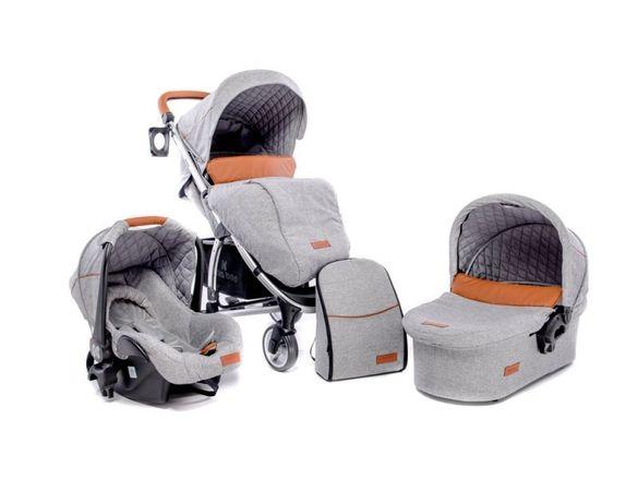 Детска бебешка количка 3в1 в много добро състояние