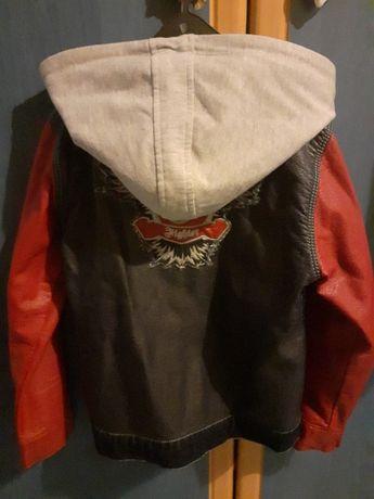 Детско кожено яке за момче - пролет/есен