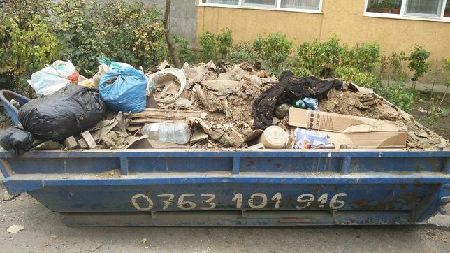 Moloz, moluz, gunoi ne sortat, amestecat, skip, deșeuri, container