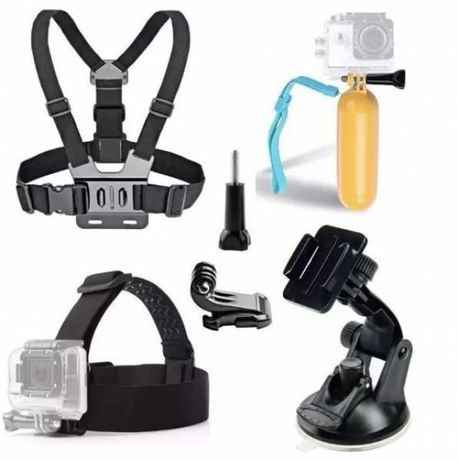 Промопакет №10 4в1 аксесоара за екшън камери gopro hero/sjcam/xiaomi