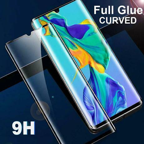 5D Стъклен протектор за целия дисплей за Huawei P30 Pro цяло лепило