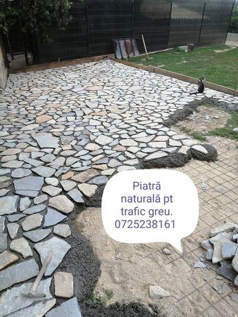 Vind și montez piatră naturală
