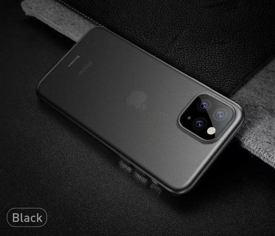 Husa ULTRA SLIM 0,2mm Negru Mat iPhone 11 Pro, XS Max, XS, X, 7, 8 8+