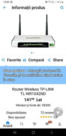 Router wireless wifi Tp link