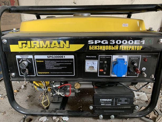 Бензиновый генератор Firman - 3 кВт, с электростартером