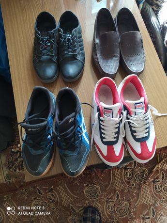 Обувь кожаная лето