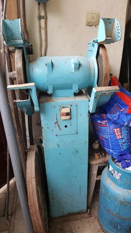 Polizor industrial 380V + comutatoare pornire + pietre