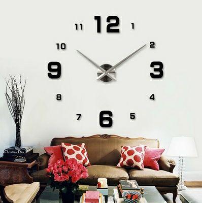 3д часы, Настырные часы,Часы для дома, Большие часы,3д сагат,Часы дом