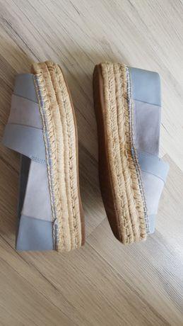 Дамски светло сини, летни обувки