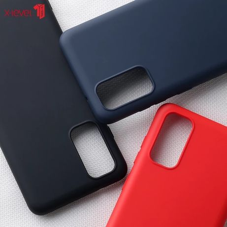Samsung A51 A71 A41 A21S A20S A31 Husa XLEVEL Silicon Catifea Interior
