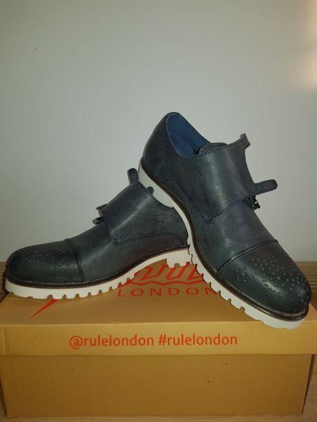 Pantofi piele naturala Rule London marime 41