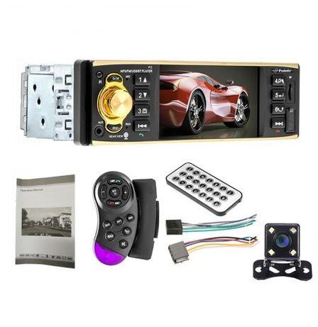 Мултимедия 1 дин видео авторадио за кола автомобил usb bluetooth cd dv