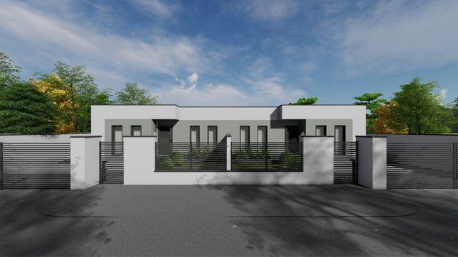 Un nou Duplex in Dumbravita cu perete despartitor de 60 cm