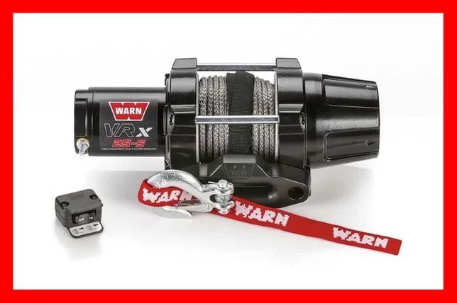 Troliu Warn ATV Cabestan Winch Atv VRX 25 cablu sintetic QUAD 1134kg