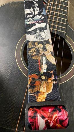 гитара с матовой отделкой 51 размера. внешность 10/10, звук 9/10,