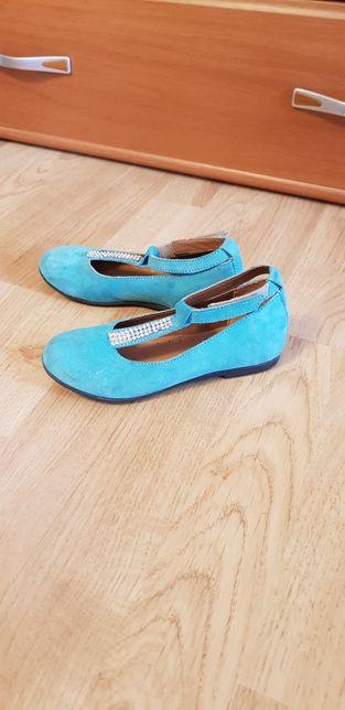 Pantofi piele naturală copii