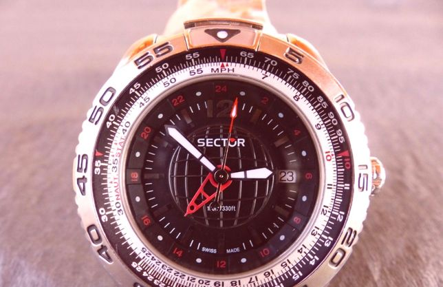 Sector 490 GMT / NOU / Impecabil / Swiss Made /