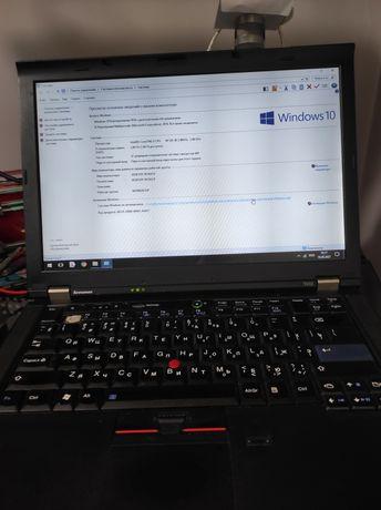 Ноутбук цена снижена-спешу с продажей core i5, 6 Гб/320 Гб lenovo t410