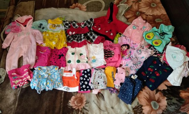 Вещи на девочку от 1 года до 2-ух лет