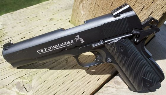 Pistol Co2 Nou!! *Fara Permis* Airsoft *S.FULL METAL* ~4J~ + Munitie