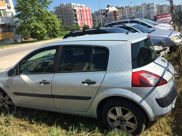 Рено Меган 1.5DCi 101кс '05г / Renault Megane 1.9DCi хечбек, комби