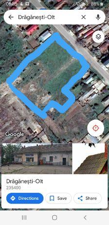 Vand teren intravilan Draganesti Olt 18464 mp, N.Titulescu 474