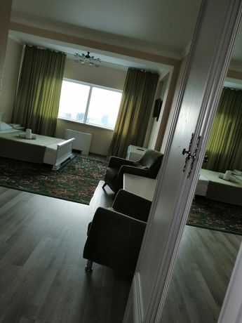Отель на 36 этаже ЖК Северное Сияние