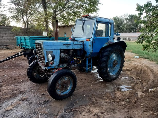 Трактор ковш телешка барана и шыжыл прастой и 5 сирак шыжыл материалы
