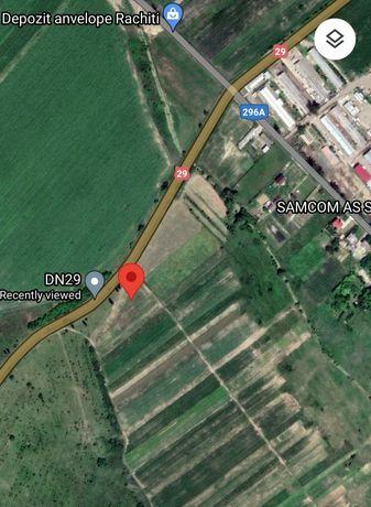 Vând teren în comuna Rachiti