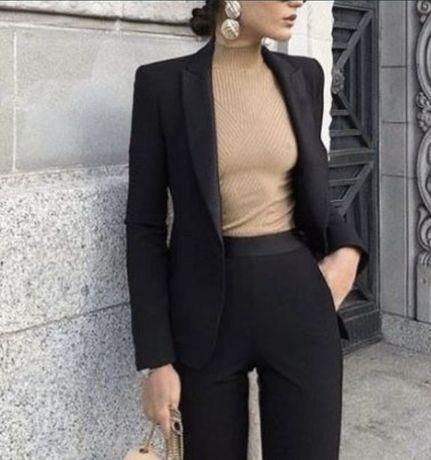 Sacou negru Zara