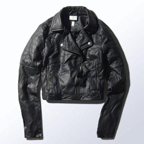 Ново кожено яке Адидас / Adidas Neo Biker Jacket Selena Gomez