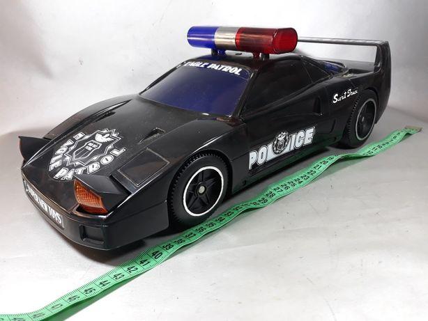 Mașina de poliție 1990 original jucărie de colecție macheta