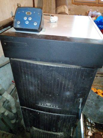 Vand Cazan Fonta Solidmax cu ventilator. 1 ELEMENT DEFECT!!!
