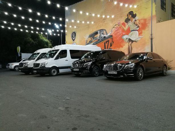 Прокат 7 10 18мест Мерседес Vclass Виана Спринтер минивэн микроавтобус