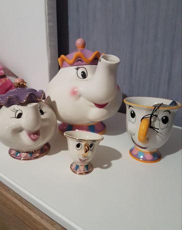 Чаша Чип и чайник госпожа Потс Disney