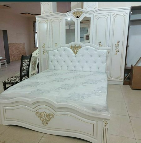 Спальный гарнитур Аксукент  мебель со склада  мебель для спальни