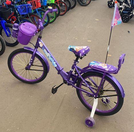 """Детский велосипед """"Принцесса"""", складной."""